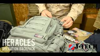 JTECH - Heracles Operation Backpack Overview