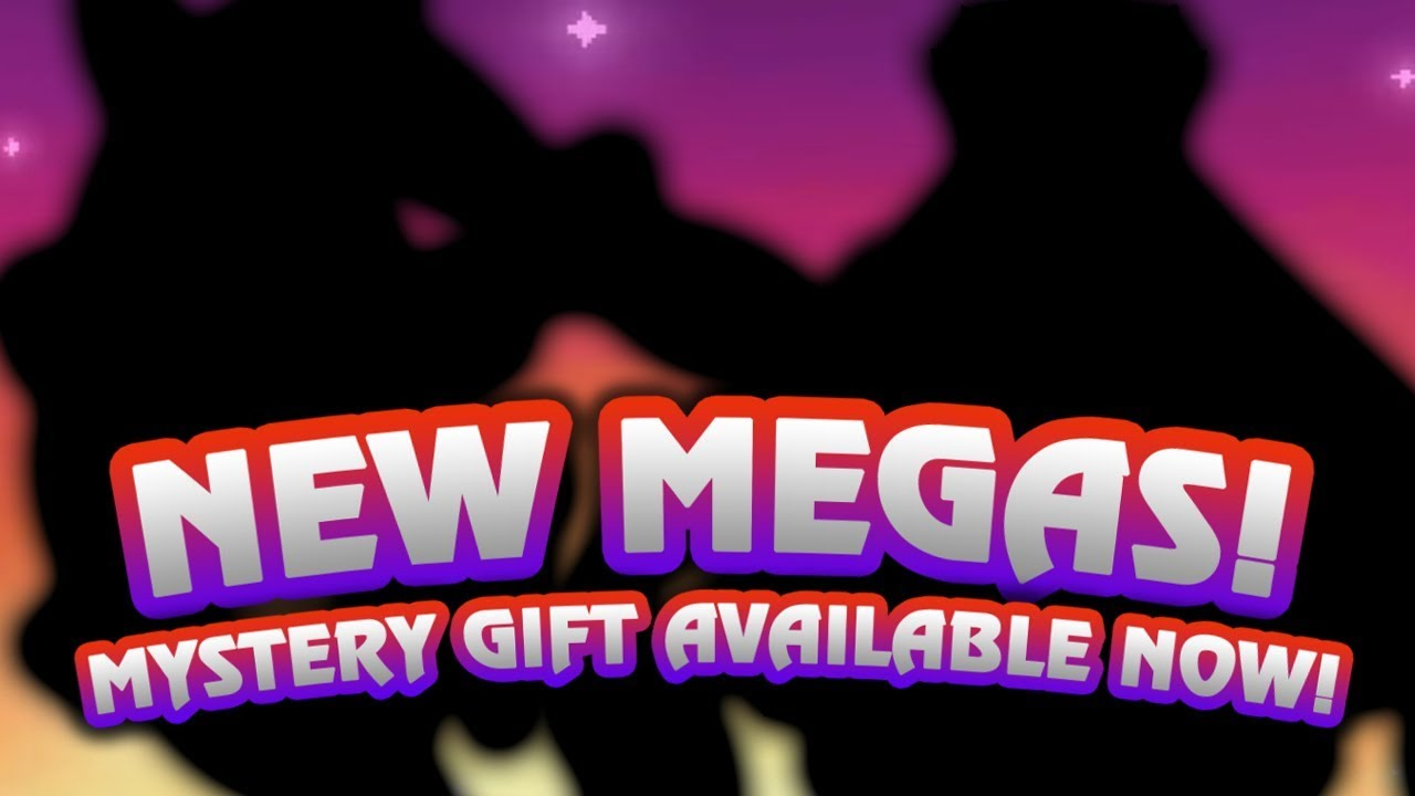 New Megas Available Now New Mystery Gift Event For Pokemon Sun
