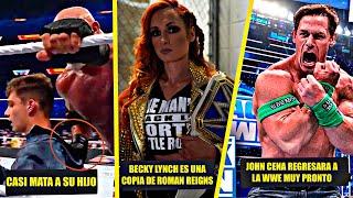 Goldberg Casi Mat4 a Su Hijo en Summerslam Becky Lynch es una Copia de Roman Reigns Chris Jericho