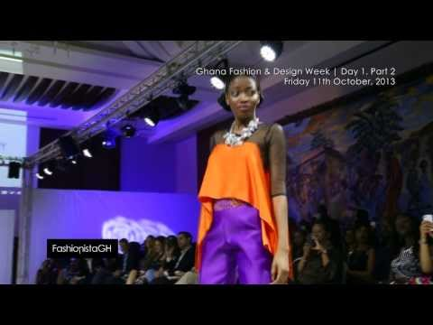 Ghana Fashion & Design Week 2013 | Day 1 Part 2 | Runway  _ #fghTV