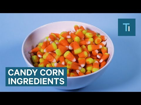 What Is Candy Corn Actually Made Of?
