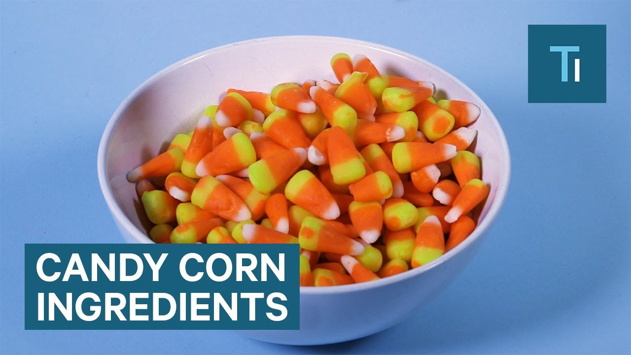 What Is Candy Corn Actually Made Of Youtube