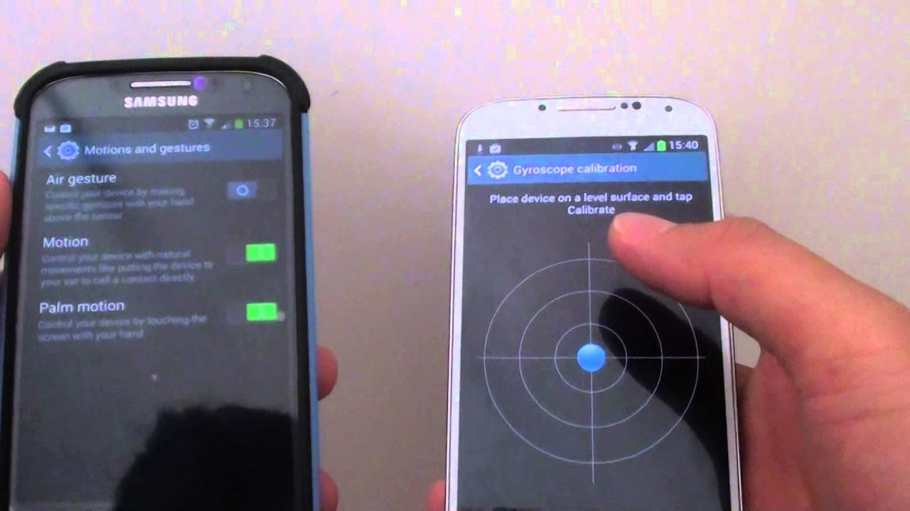 Samsung Galaxy S4: Gyroscope Calibration is Missing on ...