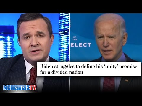 How's that unity coming, Joe? | Greg Kelly
