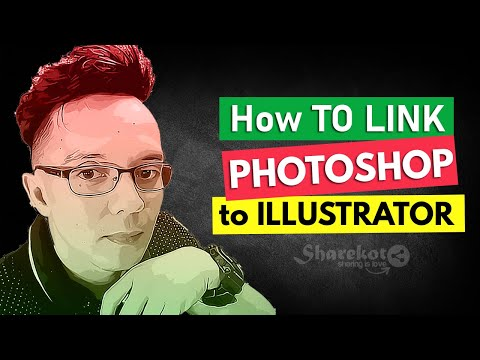 How To Link Illustrator To Photoshop