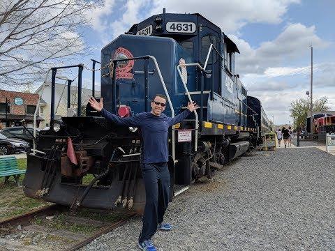 Blue Ridge Scenic Railway Trip April 14 2018