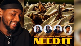 Migos - Need It (Visualizer) ft. YoungBoy Never Broke Again 🔥 REACTION