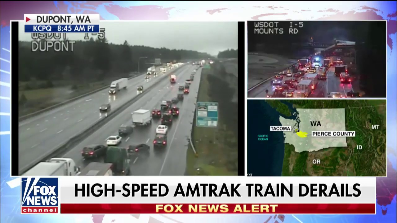 Amtrak Derailment: Casualties Reported After High-Speed Train Incident in WA