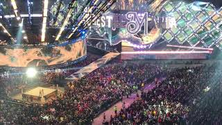 Wrestlemania 34 Seth Rollins Entrance (Fan Video)