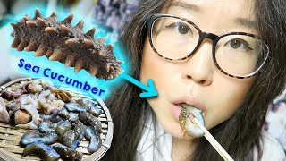 KOREAN STREET FOOD ♦ Seafood at Haeundae Beach, Busan