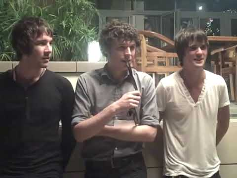 Bicycle Thieves interview backstage at Dubai Sound City