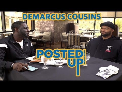 Warriors' Boogie Cousins talks the media, the fans and more on Posted Up with Chris Haynes