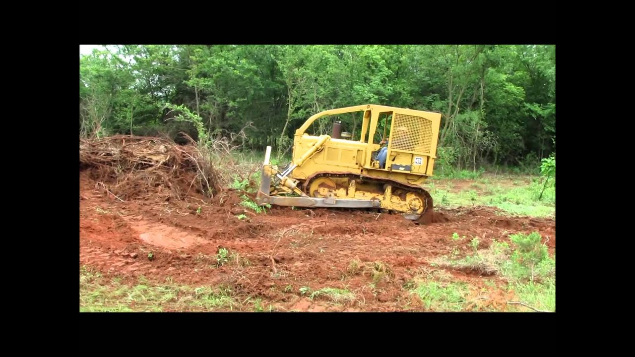 1970 Caterpillar D6C dozer Demo