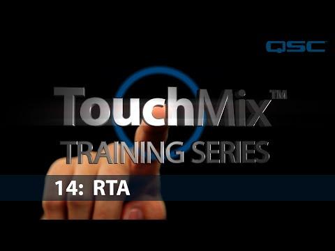 QSC TouchMix-30 Training 14: RTA (English)