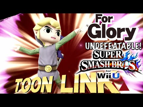 Clutch Link | Undefeatable! ~ TOON LINK Ep. 1 - Super Smash Bros for Wii U (For Glory) 60FPS