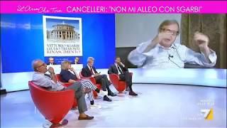 Sgarbi, elezioni Sicilia: 'Cancelleri del M5s è un ignorante'