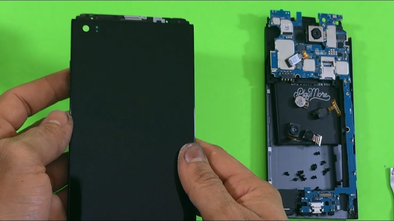 How to replace LG V20 LCD Glass Screen | Screen Replacement
