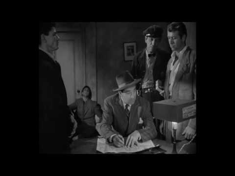 Timothy Carey  Ted de Corsia, Crime Wave  1954