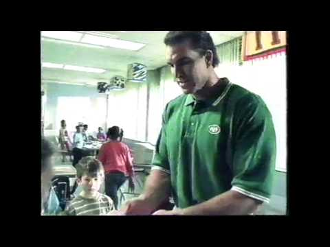 NFL and United Way commercial (2002) featuring Vinny Testaverde