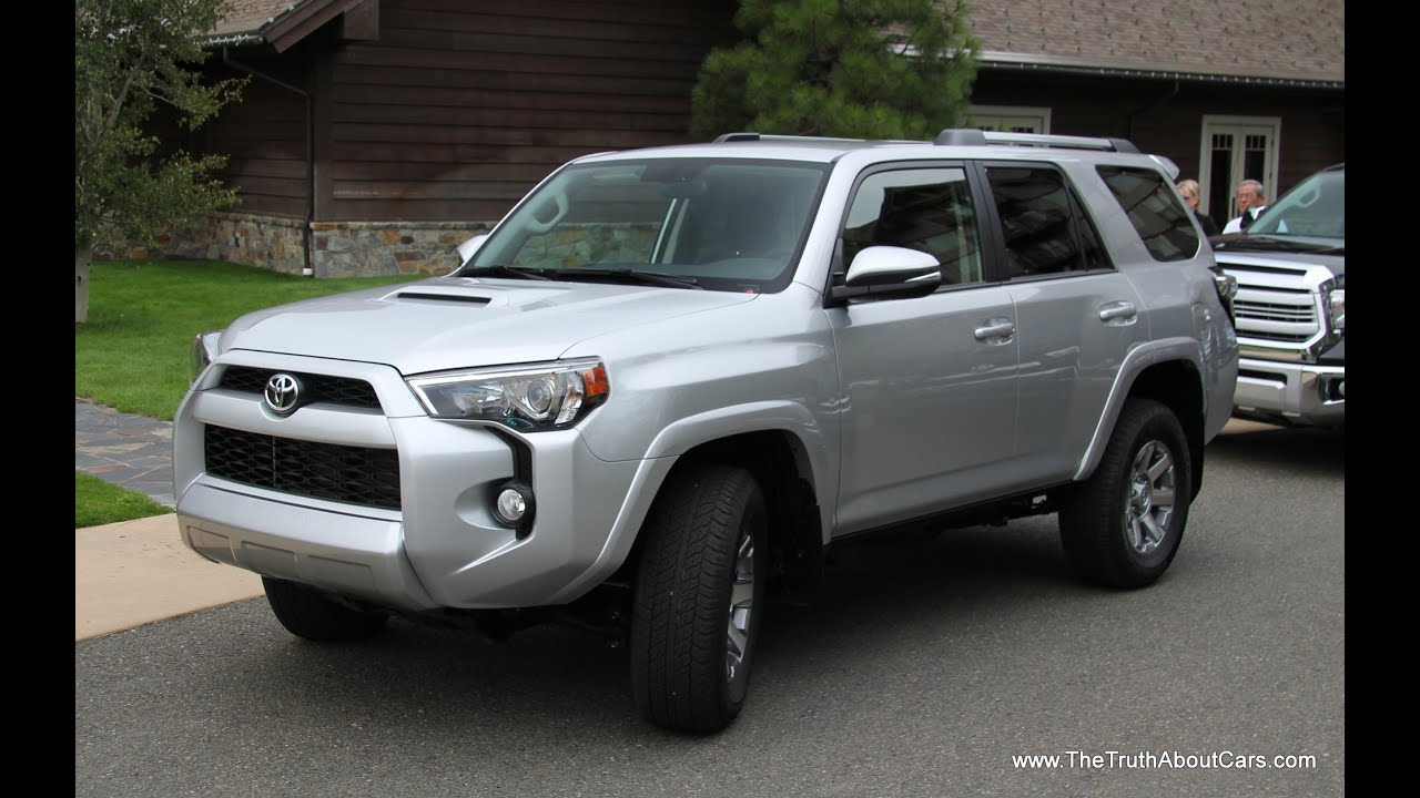 Charming 2014 Toyota 4Runner Review And Road Test With EnTune Infotainment