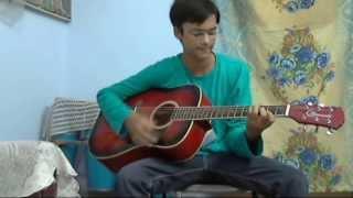 main rang sharbaton ka unplugged acoustic guitar cover with chords