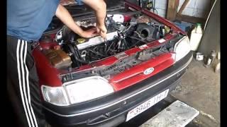 видео Форд Эскорт ремонт с 1980 по 1990 г.в.