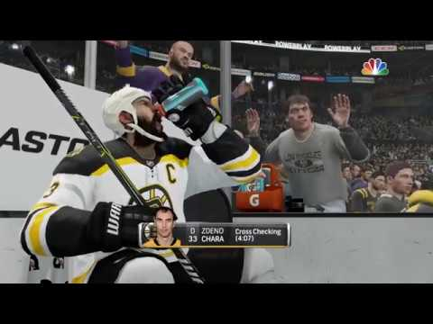 NHL® 18 Boston Bruins vs L.A. Kings