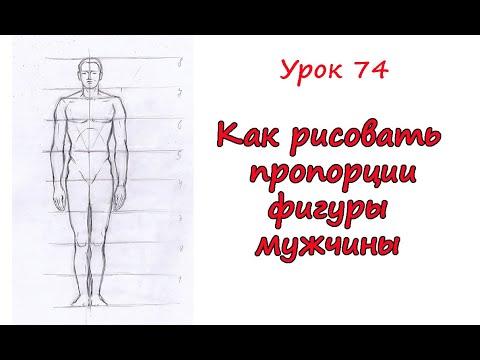 Как нарисовать человека мужчину поэтапно