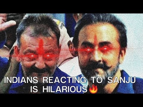 Indians reacting to Sanju is Hilarious - Hilarious Comments