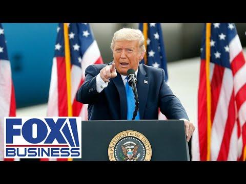 Trump delivers campaign remarks in Michigan