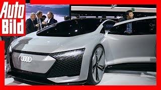 Audi Aicon Concept (IAA 2017) Sitzprobe Details/Review/Erklärung