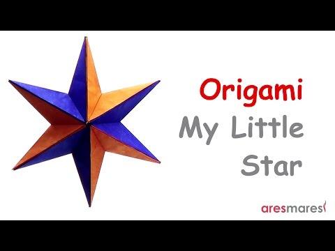 Origami My Little Star (easy - modular)