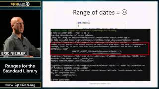 CppCon 2015: Eric Niebler ''Ranges for the Standard Library''