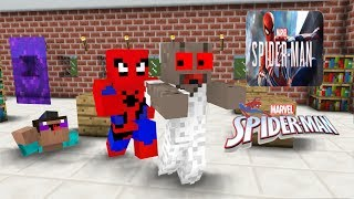 Monster School:Marvel Spider-man VS Granny Horror- Minecraft Animation
