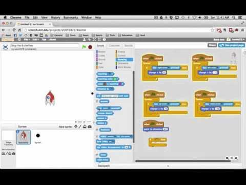 Scratch games tutorials