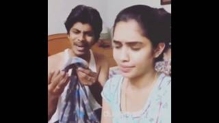 Arun-Sanjana(Cute Couple) Dubsmash Compilation full...
