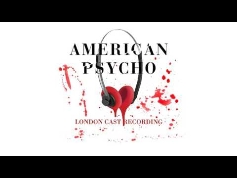 American Psycho - London Cast Recording: Cards