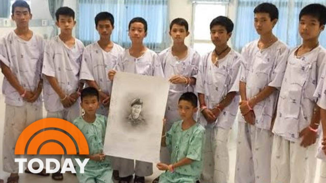 Thai Soccer Team Mourns Diver Lost In Rescue, Doctor Prescribes Family Time For The Boys | TODAY
