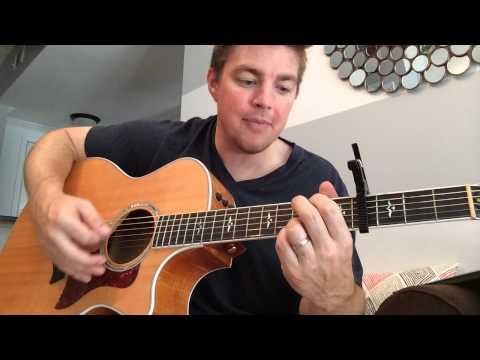 Kiss You Tonight - David Nail (Beginner Guitar Lesson)