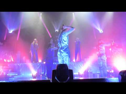 The Knife - A Tooth for an Eye  - Live @ The Fox Theater Pomona 4-9-14 in HD