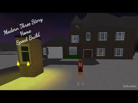 ROBLOX | Welcome to Bloxburg: Modern Three Story Home ...