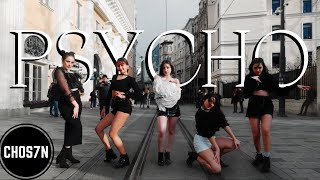 [KPOP IN PUBLIC TURKEY] Red Velvet (레드벨벳) 'PSYCHO' Dance Cover by CHOS7N