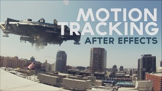 Animacion 3D Motion Tracking After Effects Tutorial