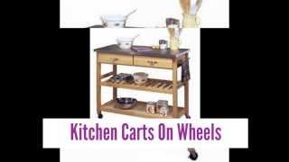Best Kitchen Carts On Wheels