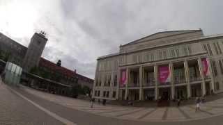 Опера Лейпцига Leipzig opera обзор здания оперы, пргулка по опере(Oper Leipzig am Augustusplatz - inside and outside Leipzig opera Гуляю по опере показываю ,как выглядит снаружи и внутри,рассказываю..., 2015-05-14T19:12:42.000Z)