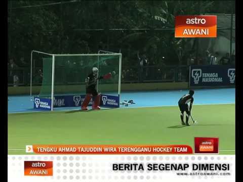 Tengku Ahmad Tajuddin wira Terengganu Hockey Team