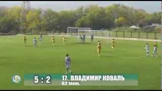 Контрольный матч. ФК Севастополь - Сборная Украины U20 5-2. Голы