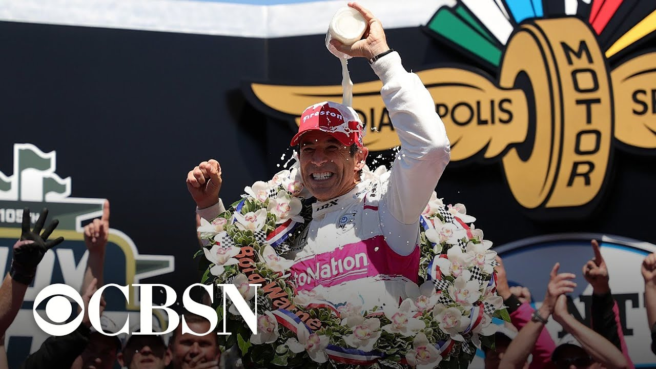 Helio Castroneves' fourth Indianapolis 500 win is one for the aged
