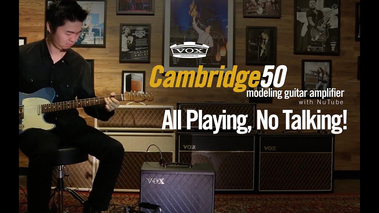 VOX Cambridge50 Hard Rock Tones