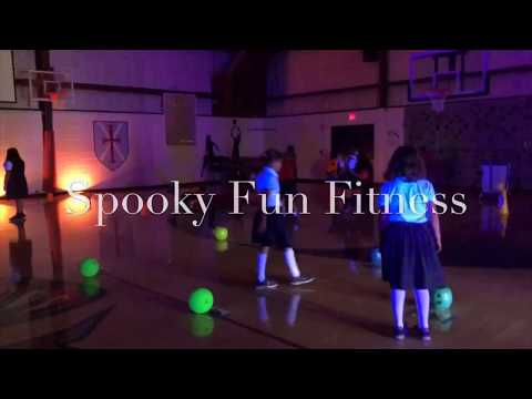 PE Games: Spooky Fun Fitness